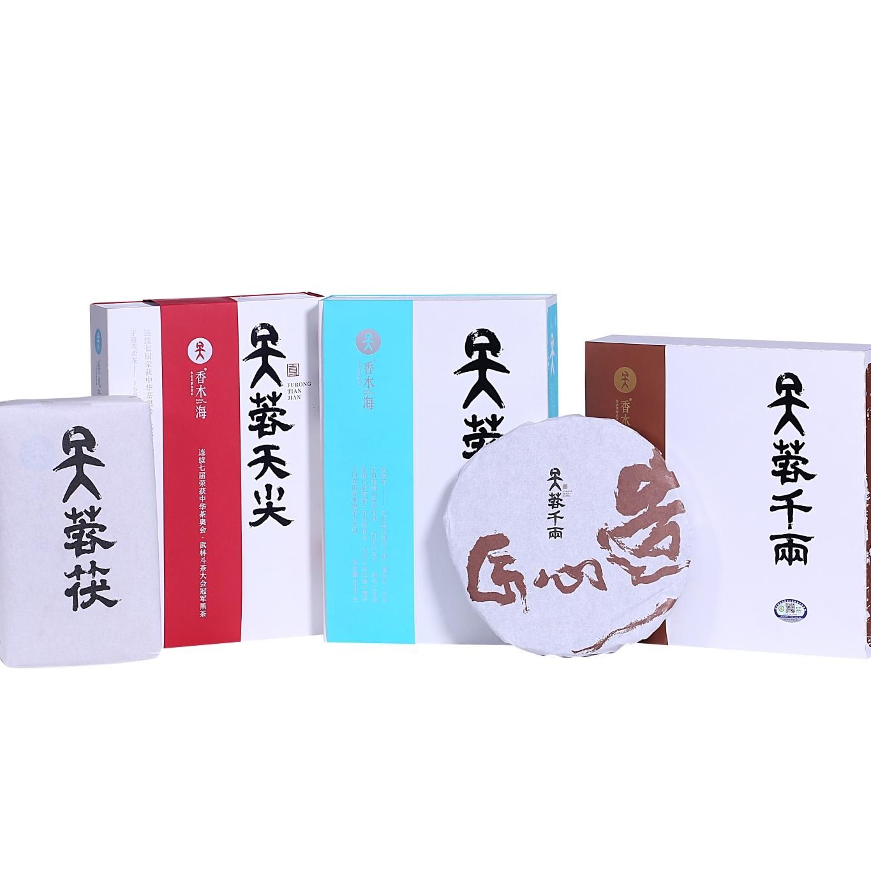 礼品黑茶定制有哪些选择?三大黑茶类别任您选择