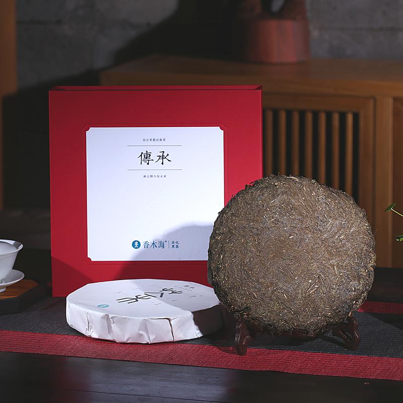 为什么安化黑茶中的金花茯砖茶,陈放越久越好喝?